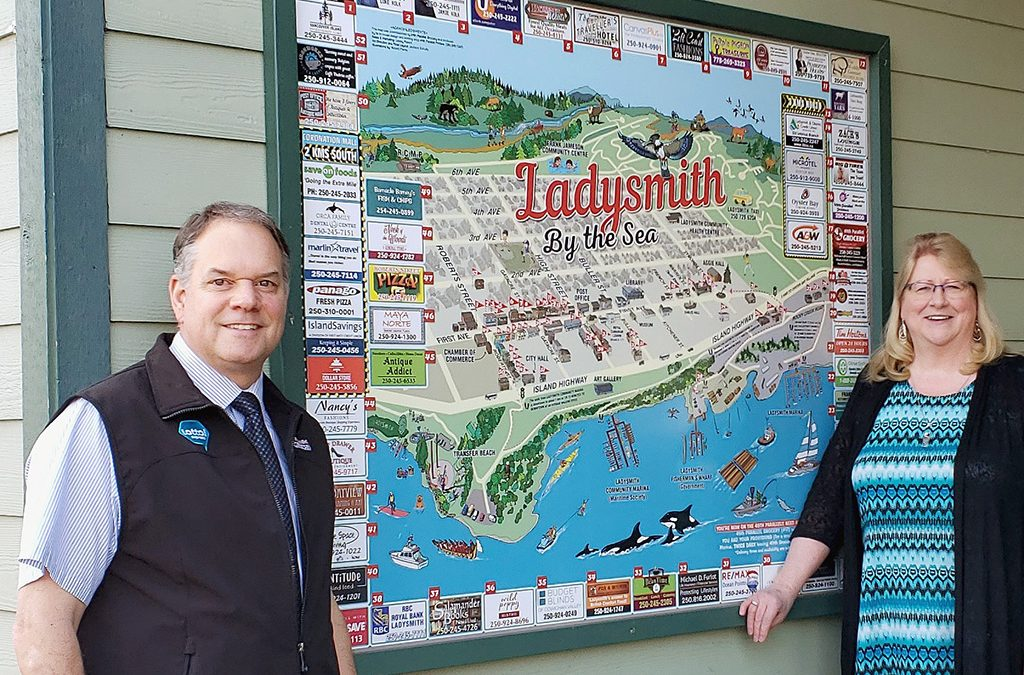 Ladysmith Map