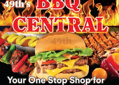 49th Grocery BBQ Station