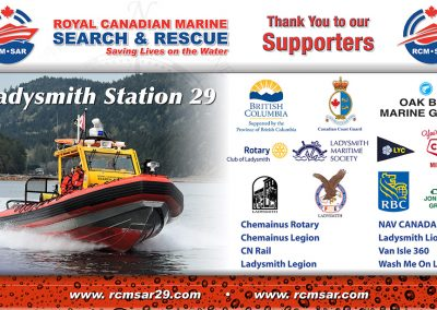 Ladysmith Marina Search and Rescue