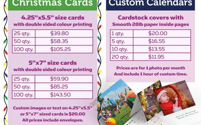 Holiday Season Custom Gifts – 10% off all Photo Paper Prints!